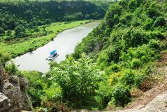 Tropical river Royalty Free Stock Photo