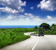 Tropical road Royalty Free Stock Photo