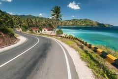 Tropical road Stock Photos