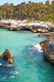 tropical rocheux de côte photo stock