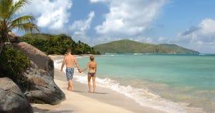 Tropical romance Royalty Free Stock Photos