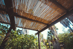 Tropical roof Royalty Free Stock Images