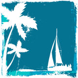 Tropical sailing Stock Photo