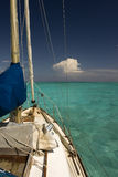 Tropical sailing paradise Stock Photo