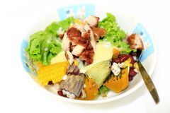 Tropical salad Stock Images