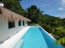 Luxurious resort accommodation Royalty Free Stock Photos