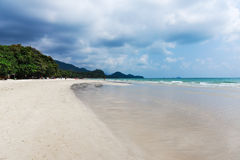 Tropical sand beach Royalty Free Stock Image