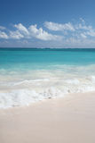 Tropical  Sand Beach and Ocean Royalty Free Stock Photo