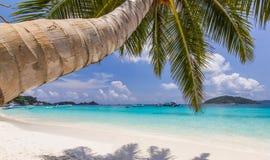 Tropical sand beach Stock Photo
