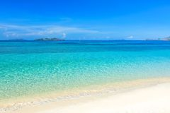 Tropical beach Malcapuya Royalty Free Stock Photography
