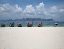 Tropical sandy beach. stock photos