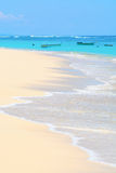 Tropical sandy beach Stock Images