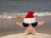 Tropical Santa Stock Image