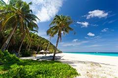 Tropical scene. Beautiful tropical scene, Philippines, Boracay Stock Photography