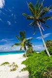 Tropical scene, Philippines. Puka Shell beach Stock Images