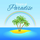 Tropical Scene Stock Images