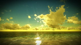 Tropical scene Time Lapse Sunrise. Video footage stock footage