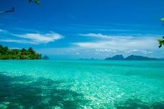 Tropical scenery. Beautiful Koh Kradan island, Trang Province. Thailand Royalty Free Stock Image