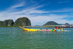 Tropical scenery of National Park in Thailand Royalty Free Stock Photo