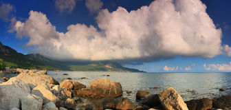Tropical sea. Panorama of a Tropical sea Royalty Free Stock Photography