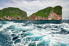 In the tropical sea Royalty Free Stock Images