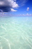 Tropical sea. View of tropical sea Maldives Stock Images