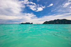 In the tropical sea. Royalty Free Stock Images