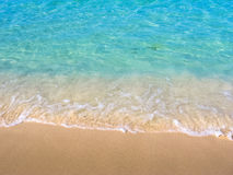Tropical sea background Royalty Free Stock Photo