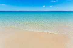 Tropical sea background Stock Photos