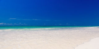 Tropical sea banner Royalty Free Stock Photography