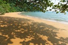 Tropical sea bay. Tropical monkey bay at Tioman island, Malaysia stock photography