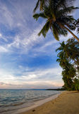 Tropical sea and beach Stock Images