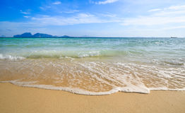Tropical sea and beach Stock Image