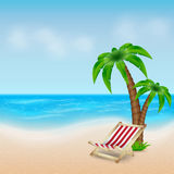 Tropical sea and beach Royalty Free Stock Photo