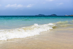 Tropical sea beach Stock Photography