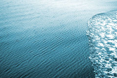 Tropical sea. Blue sea water surface. Italy Royalty Free Stock Photo