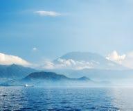 Tropical sea and blue sky Stock Image