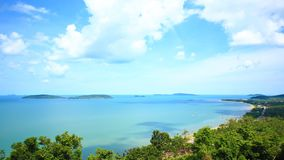 Tropical Sea on Chumphon, Thailand. Island and Tropical Sea on Chumphon, Thailand stock footage