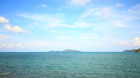 Tropical Sea on Chumphon, Thailand. Island and Tropical Sea on Chumphon, Thailand stock video