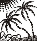Tropical sea coast Royalty Free Stock Images