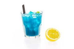 Tropical sea cocktail Royalty Free Stock Photo