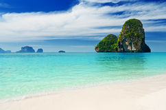 Tropical sea landscape Royalty Free Stock Images