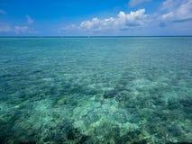 Tropical sea at Mabul island in Malaysia. Tropical sea at Mabul island at Malaysia stock image