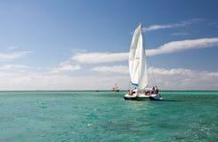 Tropical sea on Mauritius Royalty Free Stock Image
