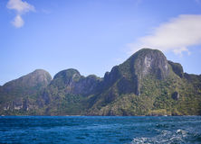 Tropical sea in Palawan, Philippines Stock Photography