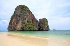 Tropical sea Phra Nang, Krabi Stock Images