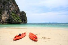 Tropical sea Phra Nang, Krabi Stock Photos