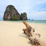 Tropical sea Phra Nang, Krabi Royalty Free Stock Photo