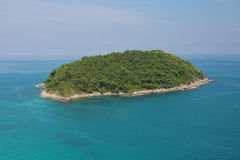Tropical sea scenery. Panoramic composition in very high resolut Royalty Free Stock Photography