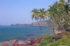 Tropical sea shore Royalty Free Stock Photography